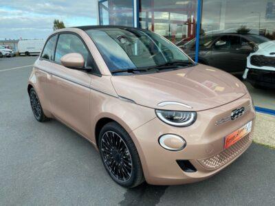 FIAT – 500C NOUVELLE – Cabriolet – Courant électrique – ROSE